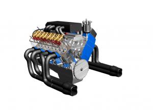 Auto Engine 3D PDF